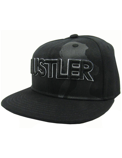 Hustler Single Lady Silhouette Black Hat - Featured Image
