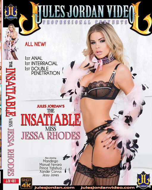 Jules Jordan The Insatiable Miss Jessa Rhodes - Adult DVD - All Sex