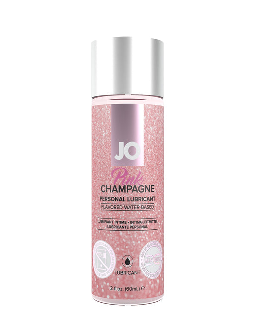 Jo H2O Flavored Lubricant Pink Champagne 2oz - Personal Care - Lubricant