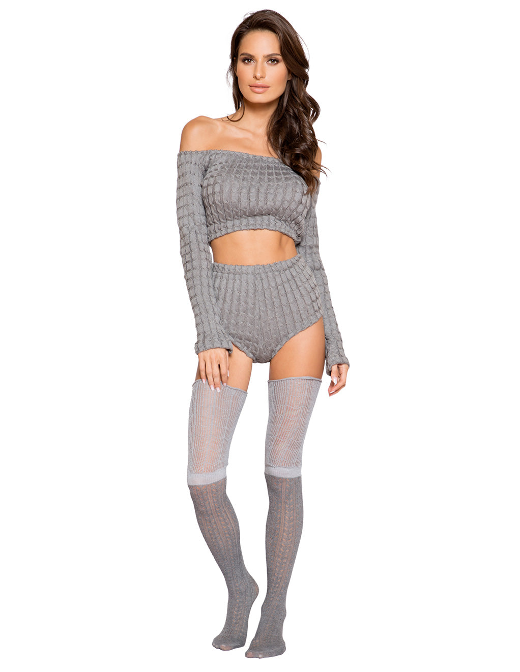 Cozy And Comfy Pajama Short Set By Roma Costume Front