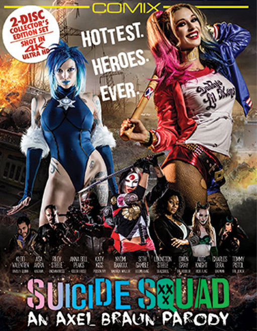 Wicked Comix Suicide Squad XXX An Axel Braun Parody (Double Disc) - Adult DVD - Mainstream - Featured Image