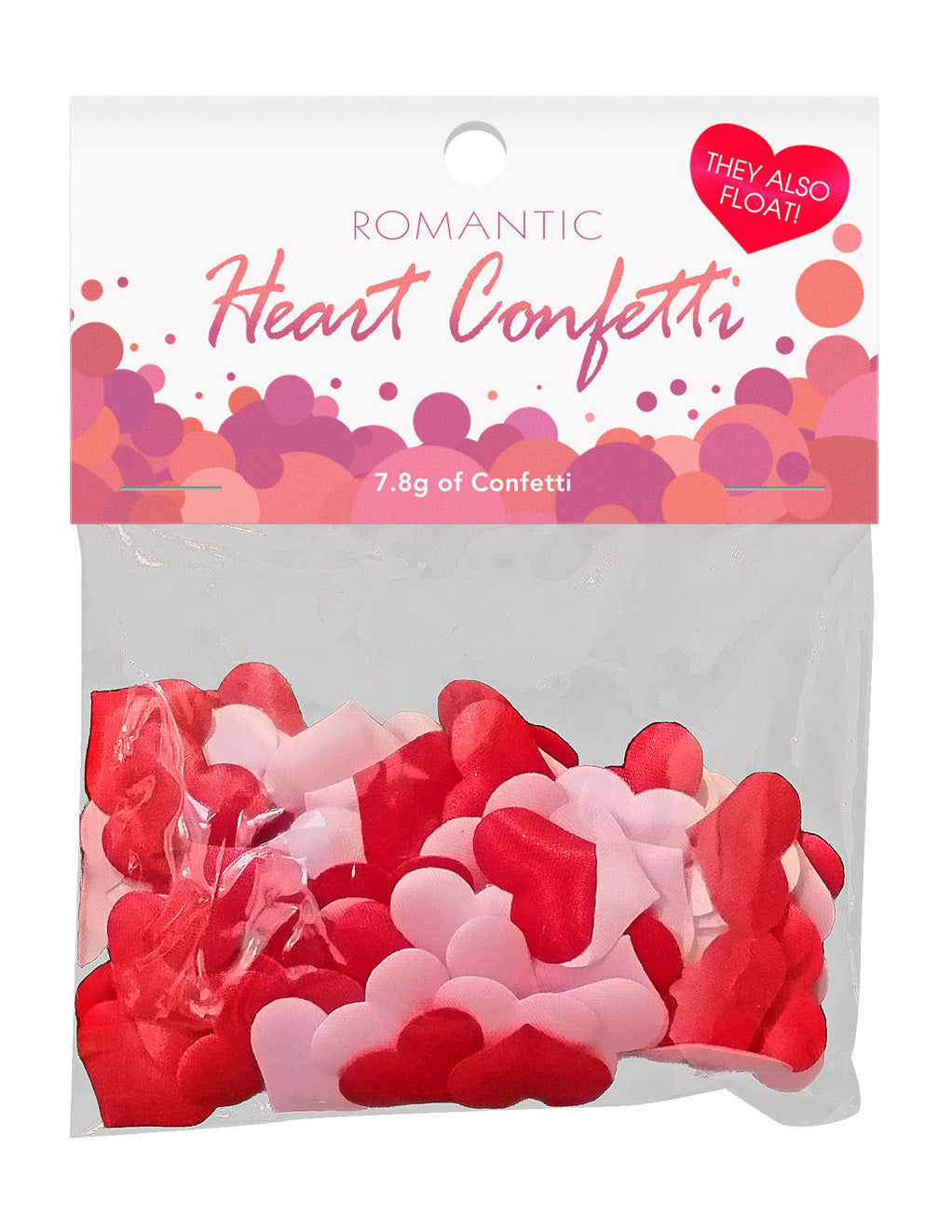 Romantic Heart Confetti- Package
