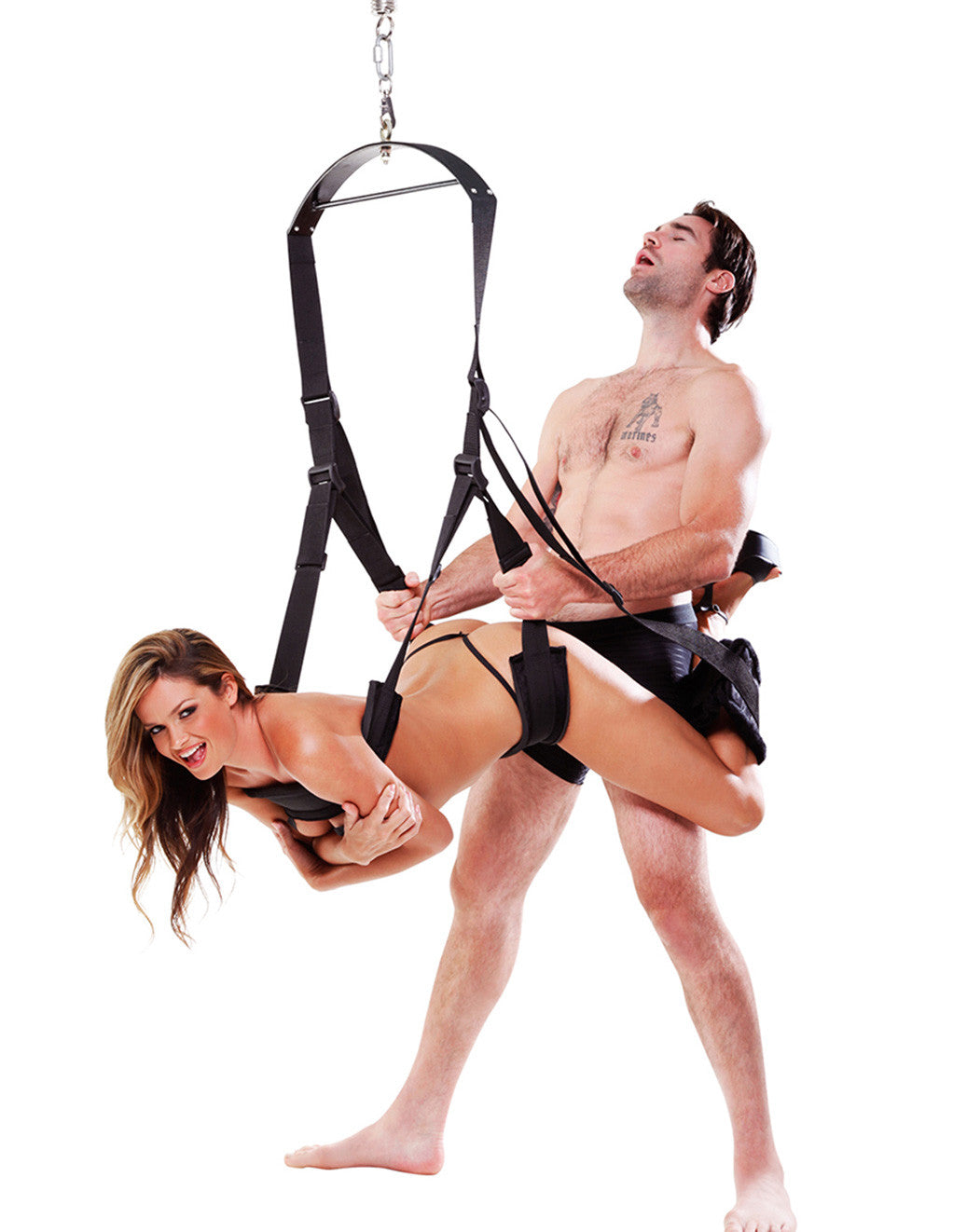 Fetish Fantasy Bondage Spin Sex Swing