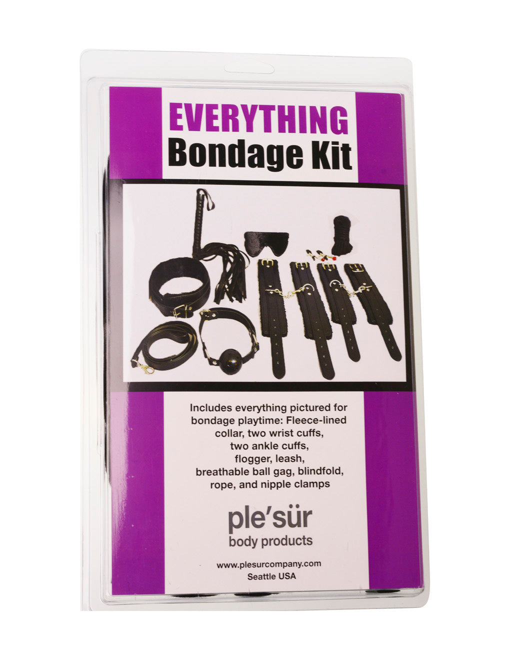 Everything Bondage Kit- Box