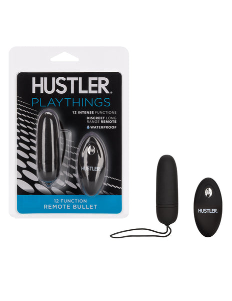 Hustler Playthings Silicone Remote Bullet - Novelties - Bullet