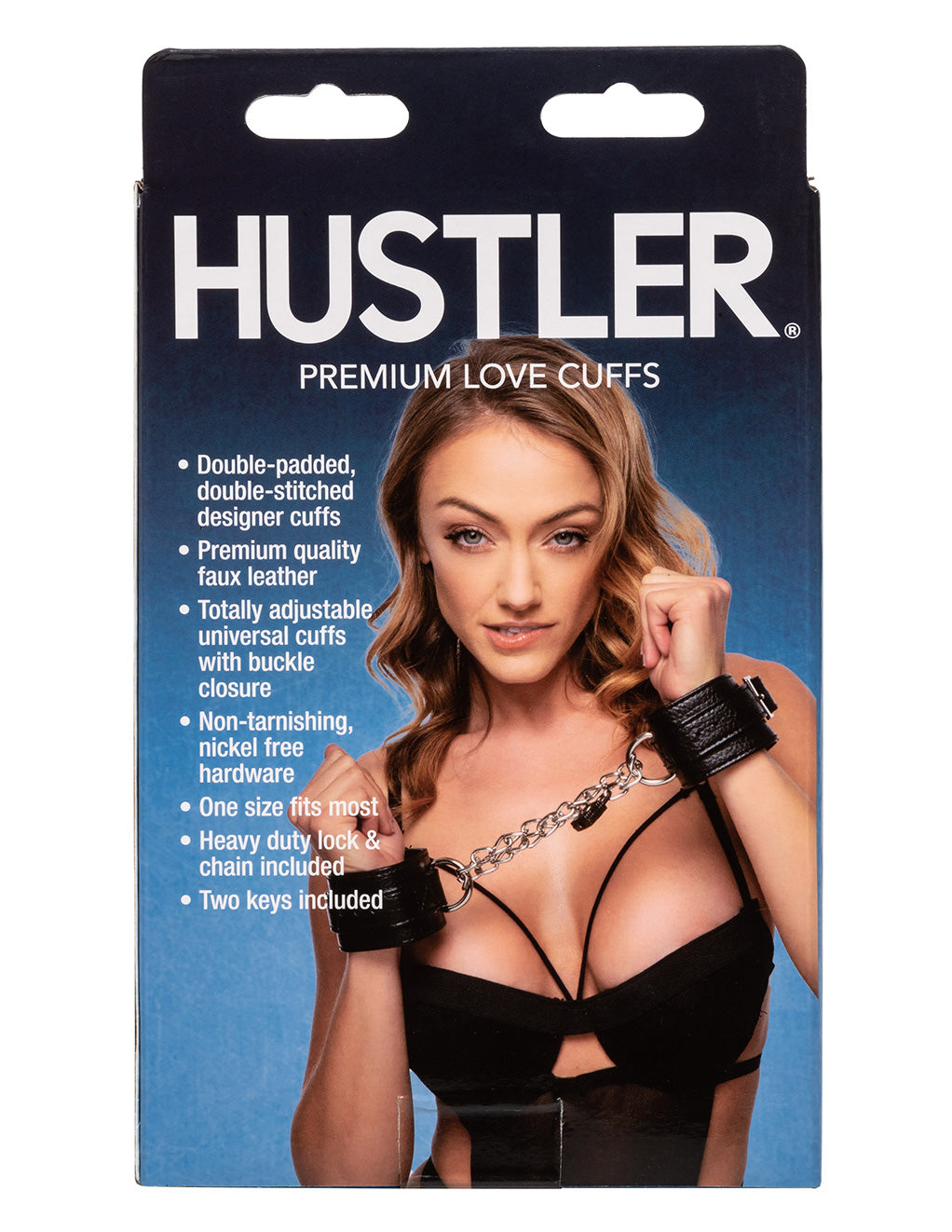 Hustler® Premium Love Cuffs- Back box