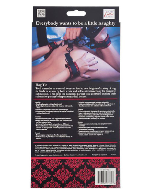 Scandal Hog Tie - Fetish BDSM - Restraints - Featured Image