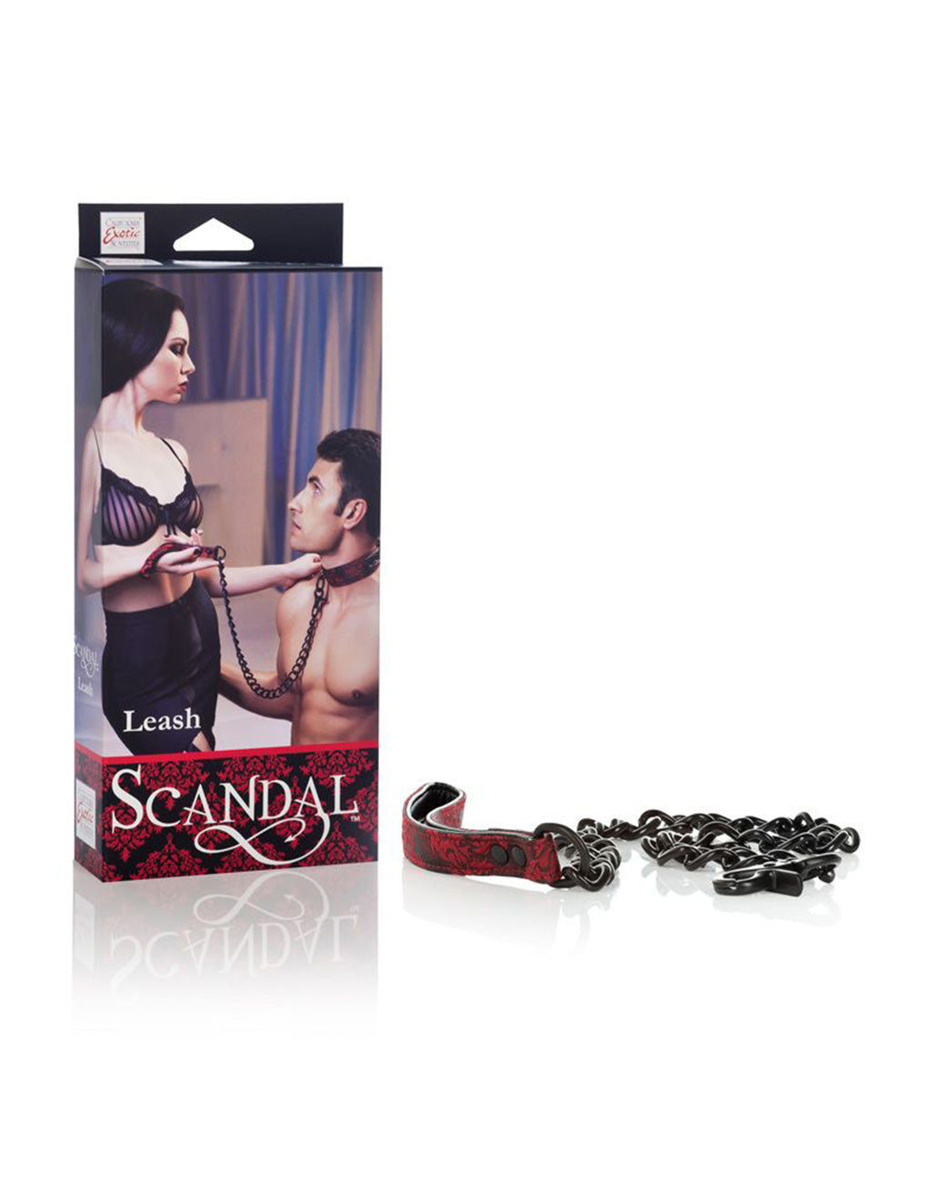 Scandal Metal Chain Leash - Fetish BDSM - Collar Leash
