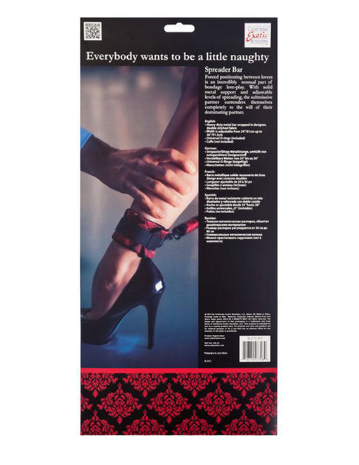 Scandal Spreader Bar - Fetish BDSM - Restraints - Featured Image