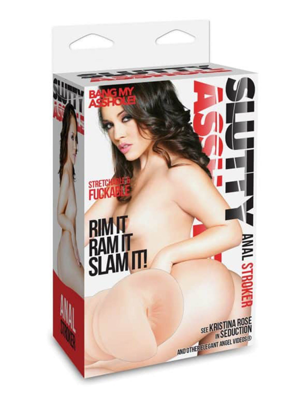 Slutty Asshole Anal Stroker packaging