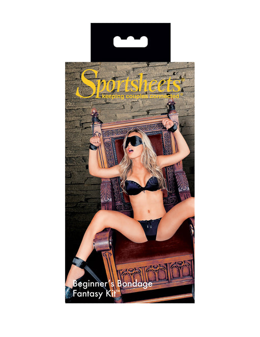 Sportsheets Beginner's Bondage Fantasy Kit Package - Featured Image