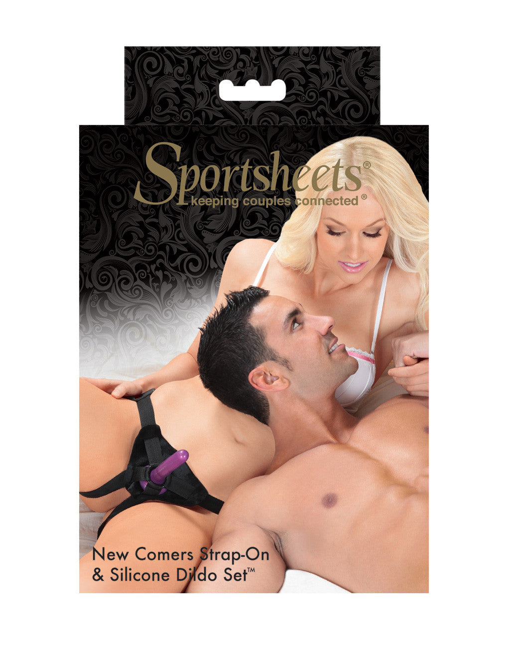 Sportsheets New Comers Strap on Dildo Set With Dildo