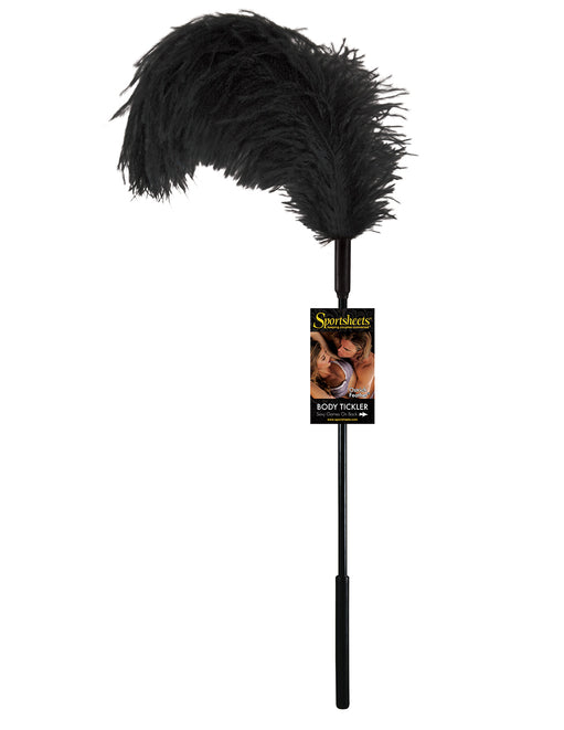 Sportsheets Ostrich Feather Body Tickler - Fetish BDSM - Sensation Play