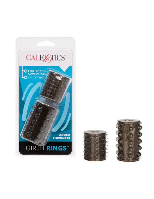 Cal Exotics Silicone Girth Rings - Novelties - Extender