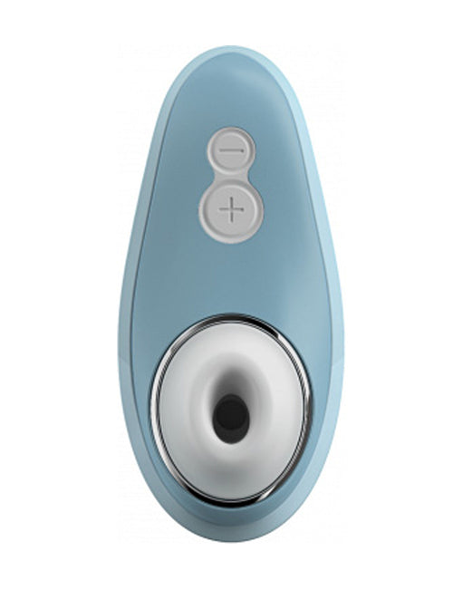 Womanizer Liberty Clitoral Stimulator blue front - Featured Image