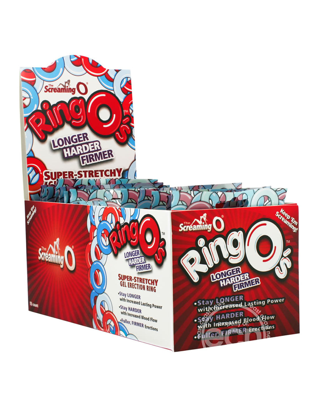 Screaming O Ring O's Stretchy Cock Ring full box