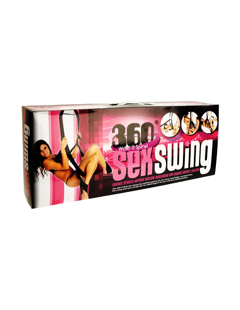 Trinity Vibes Trinity 360 Degree Spinning Sex Swing Box Front