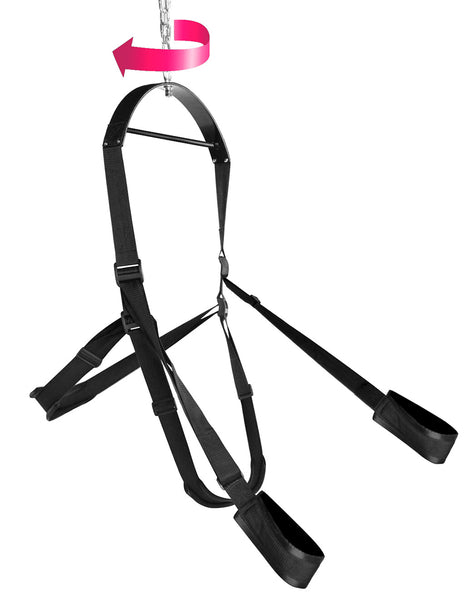Trinity Vibes Trinity 360 Degree Spinning Sex Swing Side With Rotational Indicator