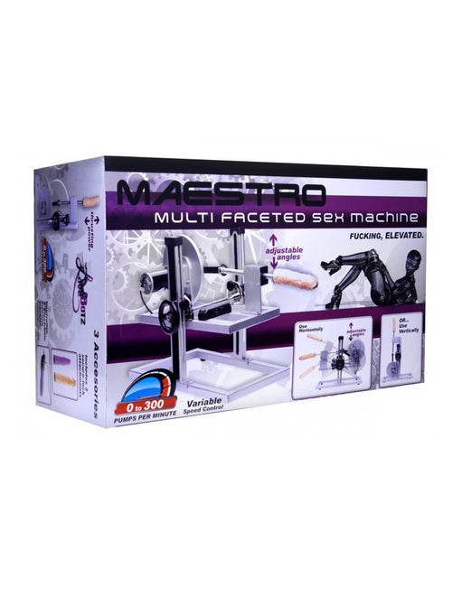 Love Botz Maestro Sex Machine Box