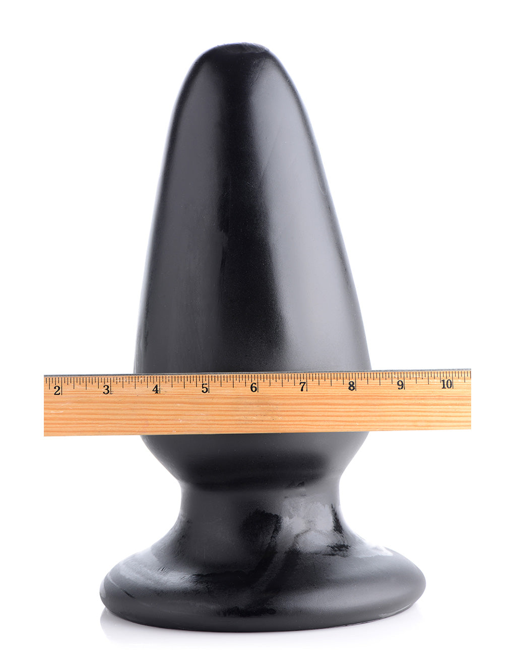 XR Brands MC Gigantor XXXL Tapered Butt Plug Width Measurement