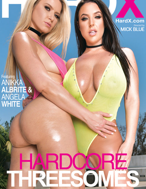 Hard X Hardcore Threesomes - Adult DVD - Group