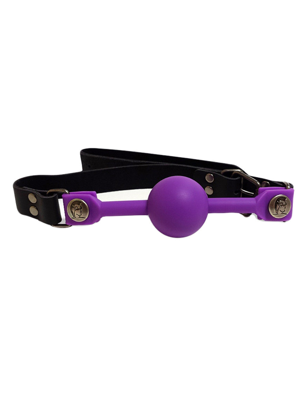 Spartacus Small Silicone Ball Gag- Purple