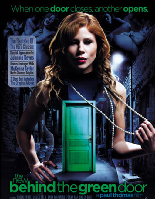 The New Behind The Green Door (Double Disc) - Adult DVD - Couples - Featured Image