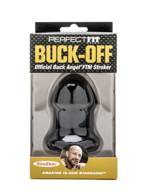 Buck-off™ Official Buck Angel® FTM Stroker - Novelties - Masturbator - Featured Image
