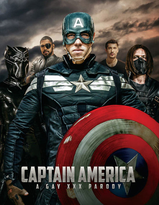 Captain America A Gay XXX Parody - Adult DVD - All Male - Featured Image
