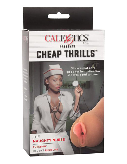 California Exotics Cheap Thrills Naughty Nurse Masturbator - Novelties - Masturbator