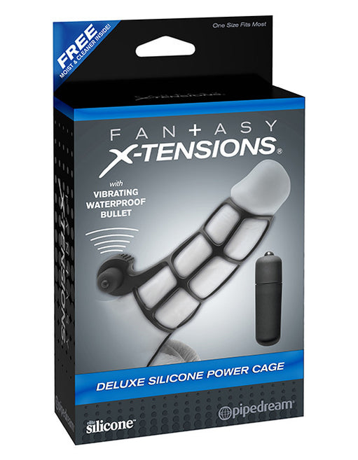 Fantasy X-Tensions Deluxe Power Cock Cage Package