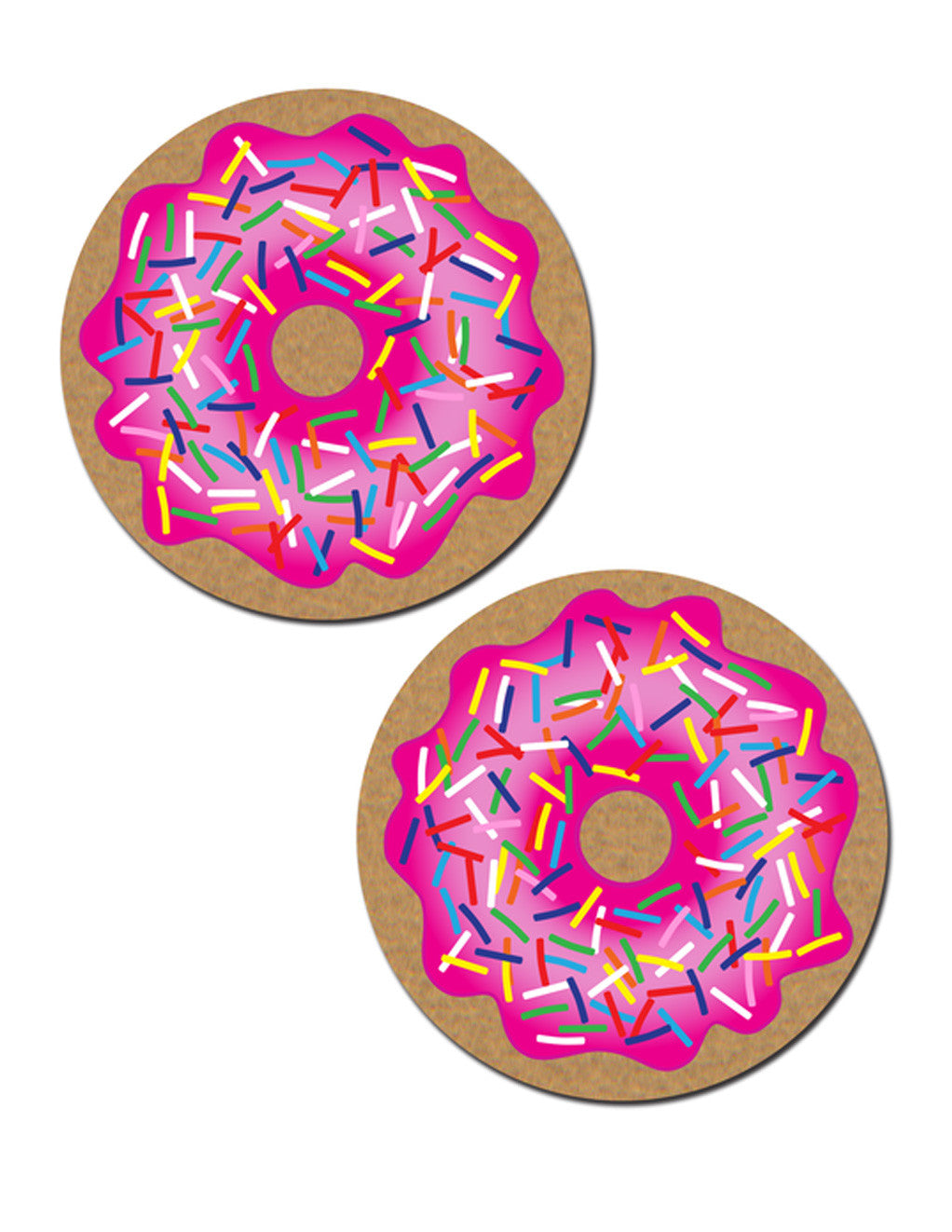 Pastease Pink Frosted Donut Nipple Pasties