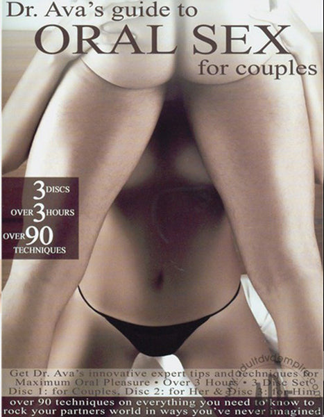 Dr. Ava's Guide To Oral Sex - Adult DVD - Couples