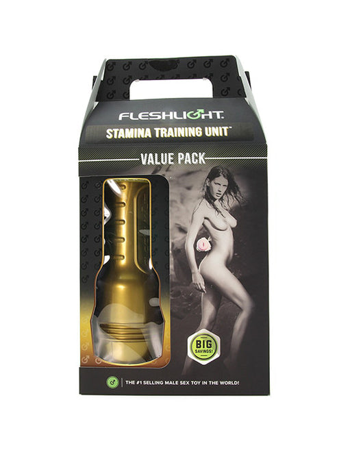 Fleshlight Pink Lady Stamina Training Unit Value Pack Package