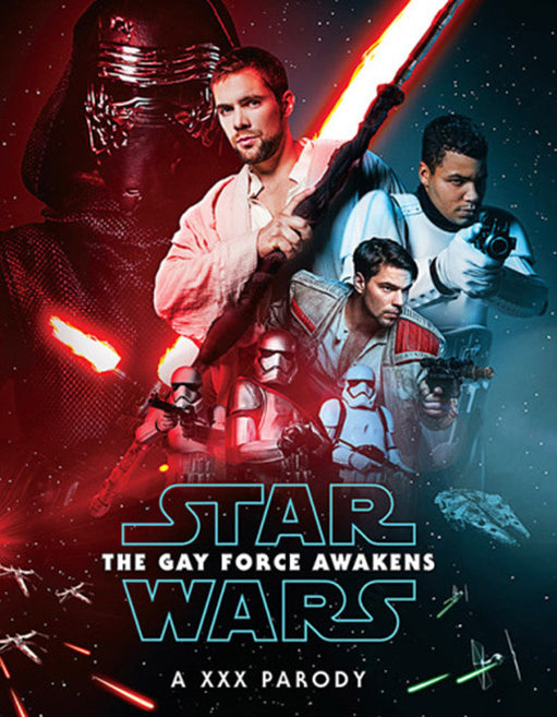 Star Wars The Gay Force Awakens An XXX Parody - Adult DVD - All Male - Featured Image