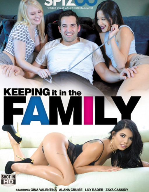 Spizoo Keeping It In The Family - Adult DVD - Family