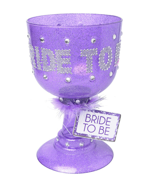 Bride to Be Rhinestone Pimp Cup - Featured Image