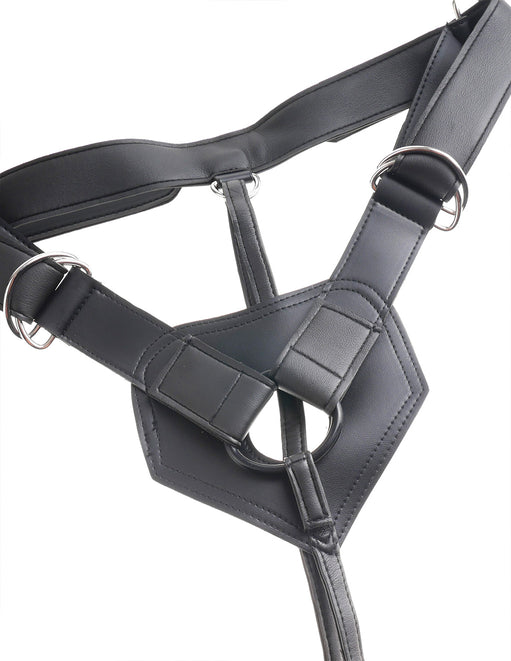 Pipedream King Cock Strap-On Harness with 6 Inch Cock