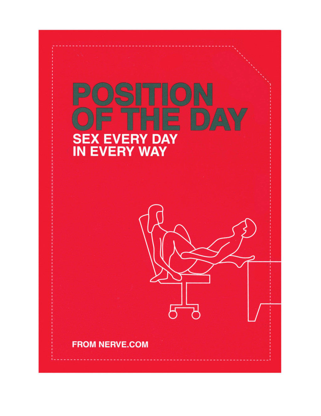 Position of the Day Book Sex Every Day in Every Way