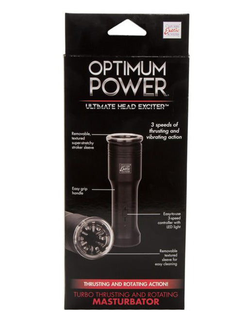 Cal Exotics Optimum Power Ultimate Head Exciter Rotating Masturbator