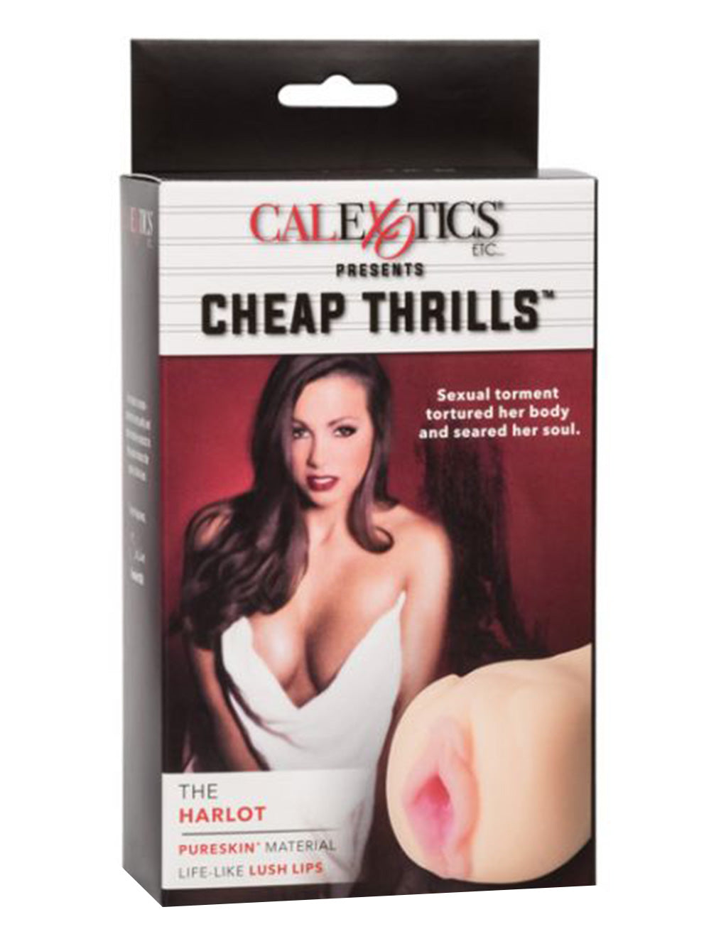 Cheap Thrills By Cal Exotics The Harlot Pureskin Open End Masturbator