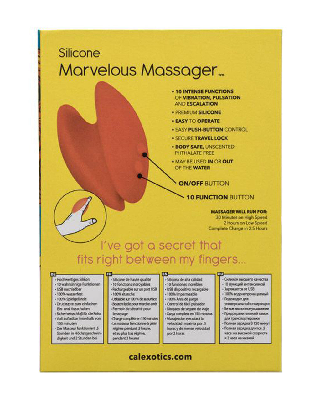 Mini Marvels Marvelous Massager Package