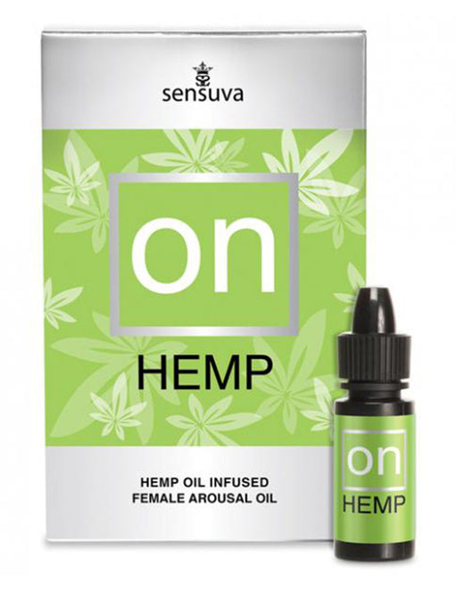 Sensuva ON Hemp Female Arousal Oil - Personal Care - Enhancement