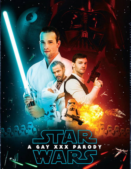 Star Wars: A Gay XXX Parody - Adult DVD - All Male - Featured Image
