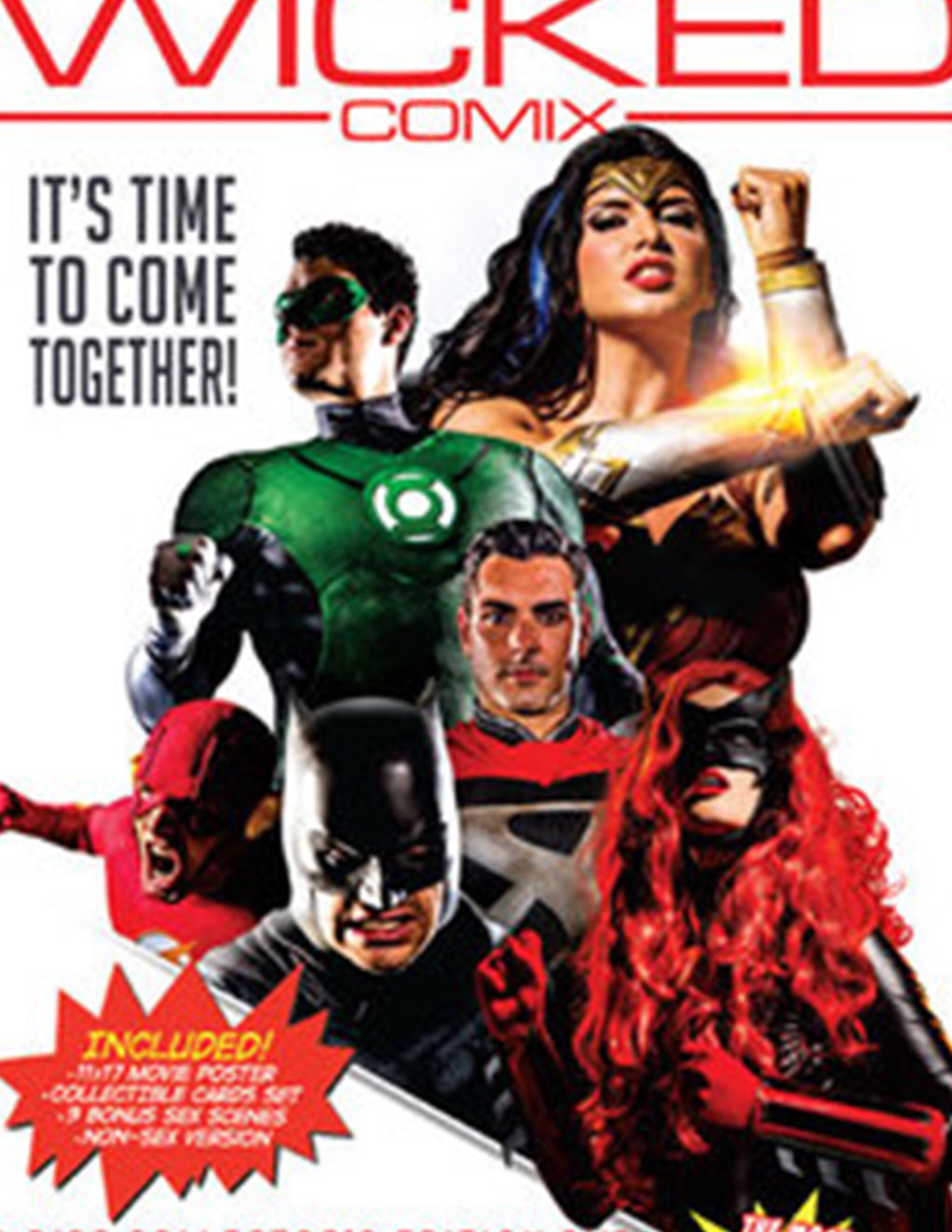 Wicked Comix Justice League XXX (2 Disc set) - Adult DVD - Mainstream