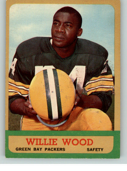 1963 Topps Football #095 Willie Wood Packers EX-MT 319456