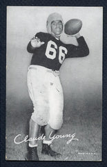 1948-52 Football Exhibits Buddy Young Yanks VG-EX Stain Back 333168