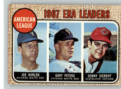 1968 Topps Baseball #008 A.L. ERA Leaders EX-MT 335978