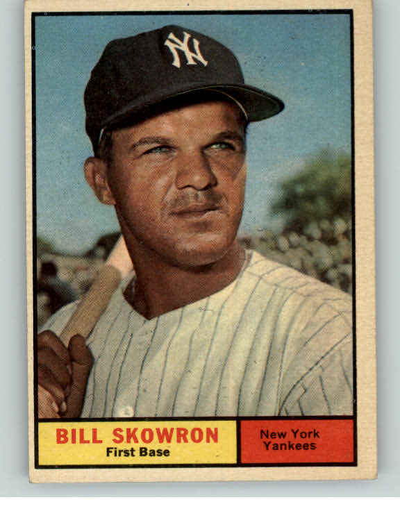 1961 Topps Baseball #371 Bill Skowron Yankees EX-MT 345807