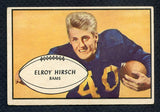 1953 Bowman Football #022 Elroy Hirsch Rams EX+ 348991